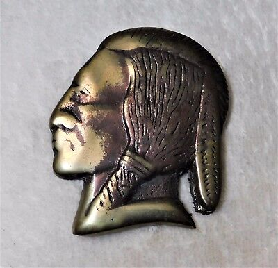 JENNINGS Slot Machine Brass INDIAN FINIAL