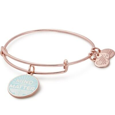 ALEX AND ANI Mind Over Matter Charm Bangle ~ A-15