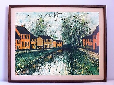 Excellent Original Bernard Buffet Large Vintage Color Lithograph Home Interior And Landscaping Palasignezvosmurscom