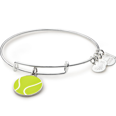 ALEX AND ANI Team USA Tennis Charm Bangle ~ A-18
