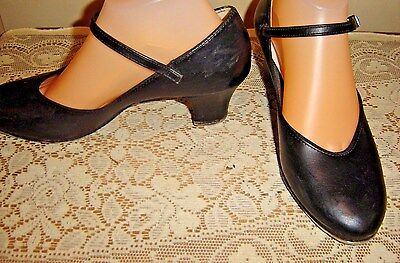 DeLuco Adult Tap Shoes {size 7} MADE IN USA ~~ ~~ ~~ ~~ ~~ ~~~ ~~~ ~~~ ~~~