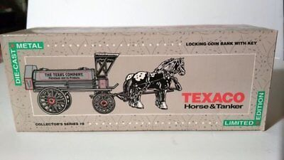 Texaco Horse & Tanker Limited Edition Collectors Series #8