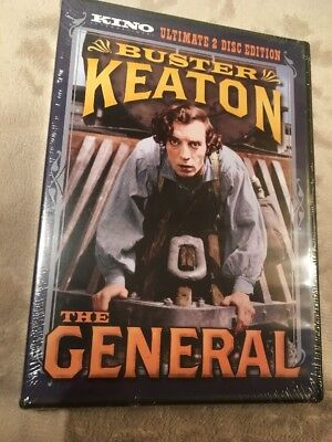 The General DVD Kino Ultimate 2 Disc Collection Buster Keaton New Free Ship
