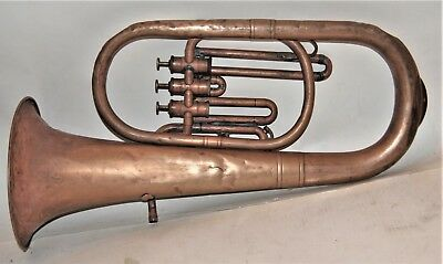 Berliner Pumpen Valve Barirone in playing condition  Mid 1800's
