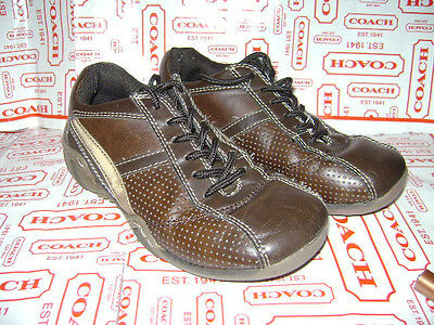 STRIDE RITE TRUMAN BROWN BOYS CHILD SHOES size 1 M BROWN LACES LEATHER VERY CUTE