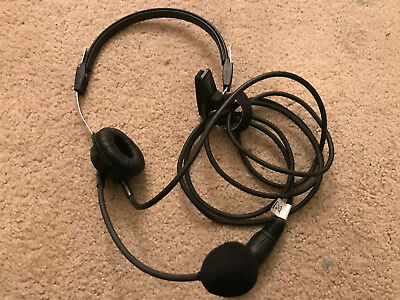 Telex PH88 Single Ear Headset with Mic and 4-pin XLR Connector