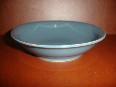 New Denby Blue Round Side Dish Bowl Plate Pottery Stoneware