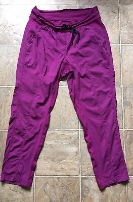 Lululemon Dance Studio Plum Pants Unlined Size 10