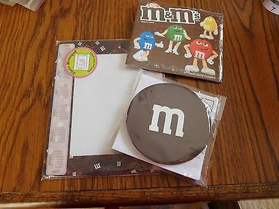 M & M Note Cards, 2009 Calendar & Photo Mousepad--All M & M Items    X