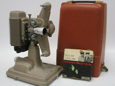Vintage Revere Model P85 8mm Movie Projector with Case New Cord