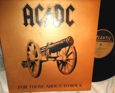 AC DC For Those About to Rock we Salute You.Org.1981 Press. Atlantic SD 11111 LP