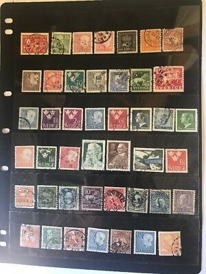 stamps  Sweden - Used - Lot 430