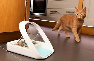 SureFeed Microchip Pet Feeder Cat Bowl by SureFlap - Stop Food Theft - 5 STARS!