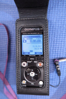 Olympus DM-670 Digital Voice Recorder 8GB Exec Case, Sonority MINT (620, 770)