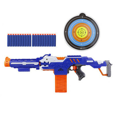 Toy Gun Plastic Electric Soft Bullet Bursts For Outdoor Shooting New Submachine