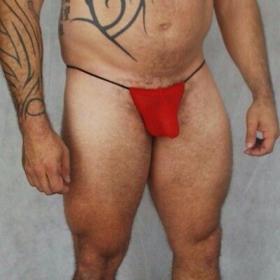 Mens Christmas Erotic Underwear - Great Fun for Xmas - Costume - G- string Thong