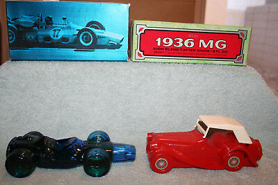 Avon Cologne Collectible bottles with boxes-Lot of 2 cars