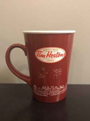 Tim Horton's Coffee Mug 2010 Limited Edition Excellent