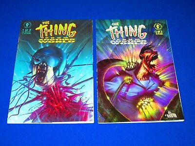 THE THING FROM ANOTHER WORLD Issues 1 and 2 Complete [Dark Horse 1991] VF/NM