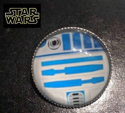 RBG1 STAR WARS R2D2 Globe Metal Pin brooch prop badge darth vader cosplay