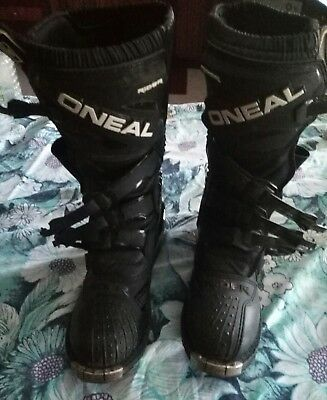 ONEAL 'the Rider' dirt bike boots Size 11 USA