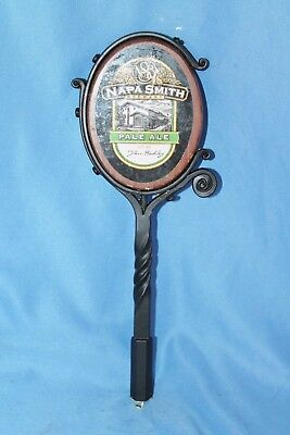 Wrought Iron Napa Smith Pale Ale tap handle beer bar pub Sonoma County