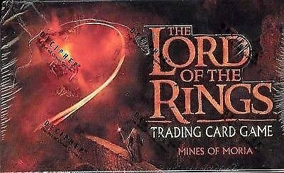 Lord Of The Rings Tcg Mines Of Moria Sealed Booster Box Of 36 Packs
