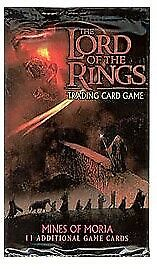 Lord Of The Rings Tcg Mines Of Moria 34 Loose Sealed Booster Packs