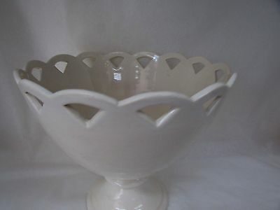 Martin Boyd Australian Pottery Pierced Comport Fruit Bowl