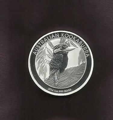 1 OZ SILVER 999 - KOOKABURRA 2014 - View Other Coin