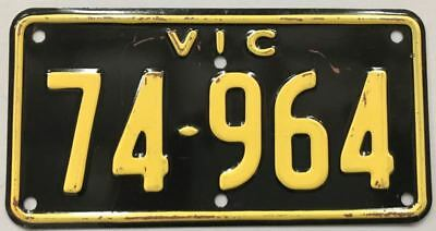 """Australia, license / number plate Victoria """"Recreational"""" motorcycle plate"""