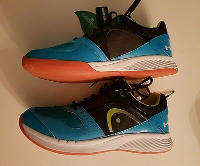 Head Sprint Team Mens Indoor Court Shoes New 11.5UK Boxed Flash Sale!