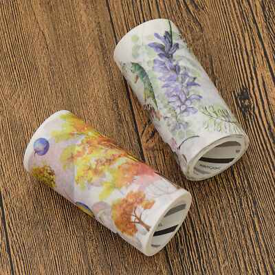 90mmX5M Spring Autumn Nature Leaf Large Size Washi Tape Decorative Tape Stickers
