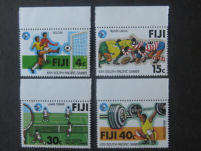 Fiji 6th South Pacific Games Set of 4 - 1979 - MUH