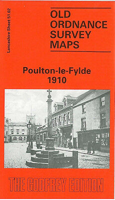 OLD ORDNANCE SURVEY MAP WALLASEY VILLAGE 1909 THE LAUND BRECK ROAD STONBY GREEN