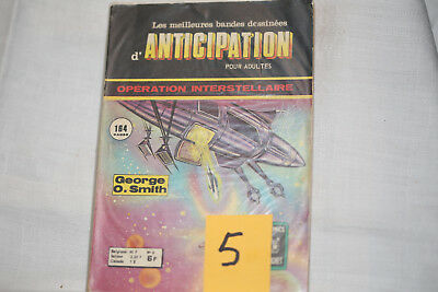anticipation(5) n°8--opération inerstellaire n°2-TBE-1976