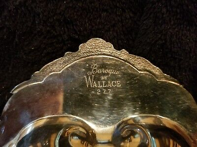 Baroque by Wallace 277 shell tray