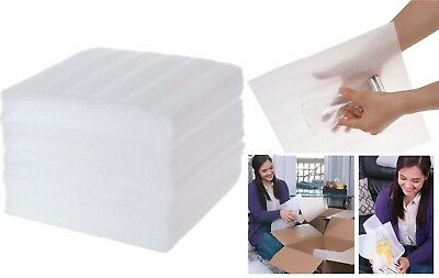 Cushion Foam Sheets,  Moving and Packing Supplies,  Safely Wrap Dishes - 50 Pack