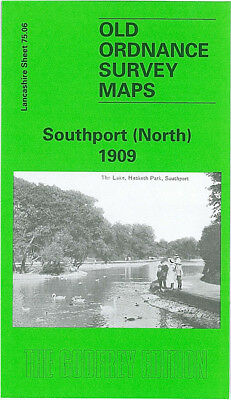 Old Ordnance Survey Map Southport North 1909