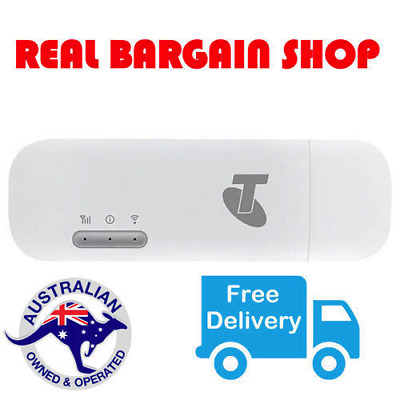 *new* Telstra 4G 4Gx Usb Wifi Plus Wireless Broadband Mobile Modem