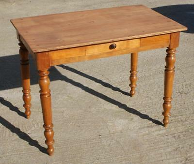 A Very Pretty French Louis Philippe Cherry Side Table / Desk