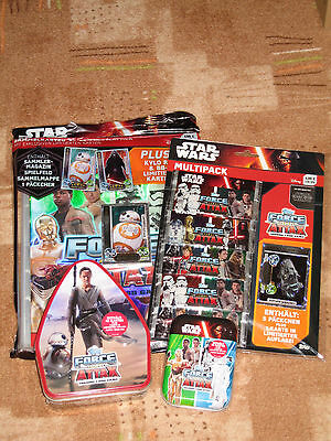 FORCE ATTAX STAR WARS 4-Teile Set NEU/OVP !!! TOP !!!