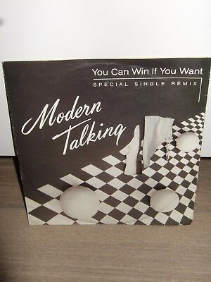 "Modern Talking - You can win if you want 1985 7"" Single Dieter Bohlen"