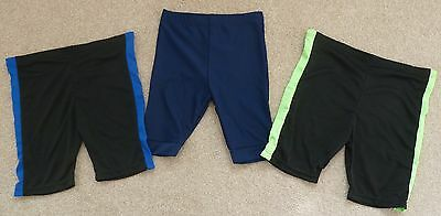 Joblot Bundle 44 Boys Shorts Age 5 6 9 10 11 12 13 Years Black Blue Cycling New