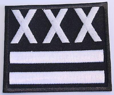 Straight Edge Triple X Patch (Mbp 260)