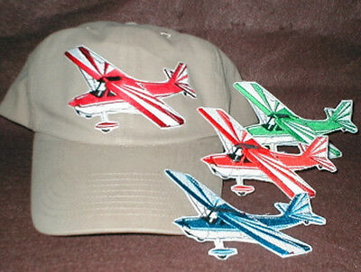 CITABRIA Airplane Aircraft Aviation Hat With Emblem Low Profile Style Khaki 3