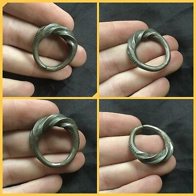 Superb Large Heavy Viking Silver Ring