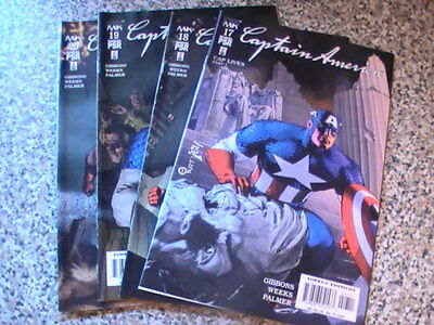 Marvel Knights Captain America # 17,18, 19, 20  - Cap Lives Parts 1 - 4