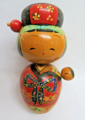 Vintage Japanese Wood Kokeshi Doll