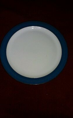 Denby Boston Blue Salad/side Plate 9 Inches